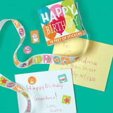 Stickers Happy Birthday/Roll
