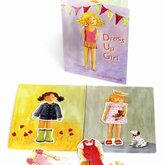 Magnetic Book dress Up Girl