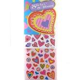 Stickers & Album Hjärtan