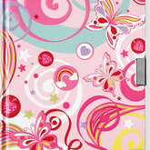 Locking Journal Fantasy Butterflies