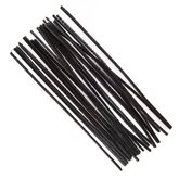 Pipe Cleaners  Black 30 cm 25 pcs