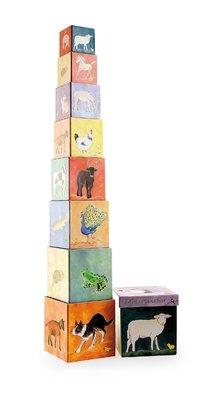 Pyramide Cubes Farm animals
