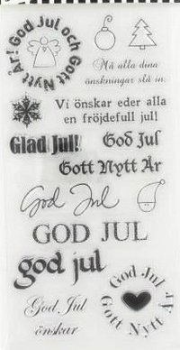 Clear stamps Swedish Christmas