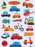 Stickers Beep Beep