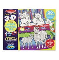 3D Coloring Book Animals