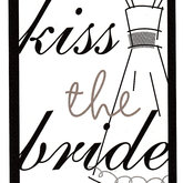 Die Cut Kiss the Bride