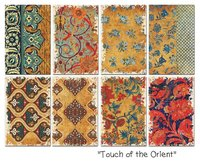 Pappersset MIni/Touch of the Orient