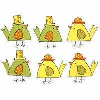 Vårkycklingar