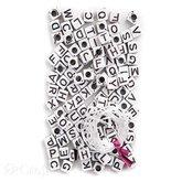 Alphabet Beads 130 pcs