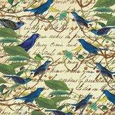 Papper Fåglar och text