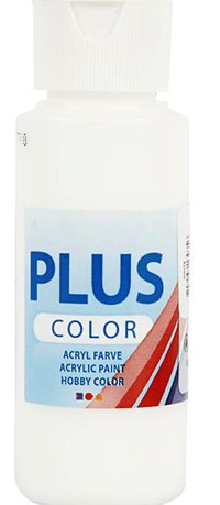 Plus Color Acrylic Paint/Eggshell White