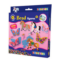 Bead Figures Horse & Butterfly