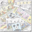 Mickey Comic Strip 12""