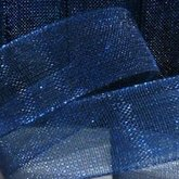 Organza Ribbon Dark Blue 10 mm