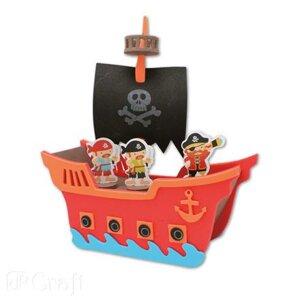 Pysselset Foam Piratskepp