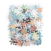 Sequins Snowflakes Mixed colours