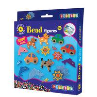 Bead Figures Car, Dog, Fish & Flower