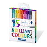 Triplus Fineliner Brilliant Colours 0,3 mm 15-pack