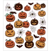 Stickers Halloweenpumpor