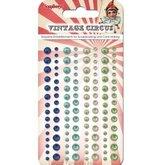 Självhäftande halvpärlor Vintage Circus 2
