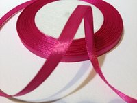 Satinband Magenta 6 mm