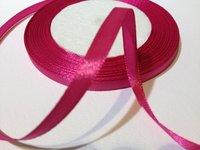 Satin Ribbons Magenta 6 mm