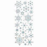 Stickers Snowflakes Glitter