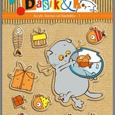 Clearstamps Basik & K Fishes