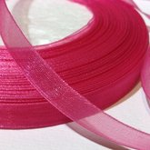 Organza Ribbon Magenta 10 mm