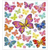 Stickers Fjärilar Glitter