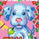 Måla pixel för pixel - Hund