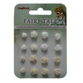 Set of flowers Fairy Tale 3 Resin