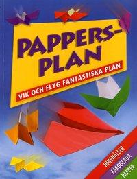 Pappersplan Vik och flyg fantastiska plan