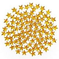 Blingstenar Stjärnor Guld 100 st