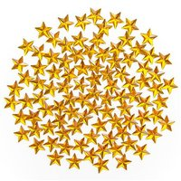 Gem Stones Gold Stars 100 pcs
