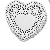Cake Napkins Heart small/10 pcs