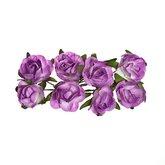 Roses Lilac 8 pcs