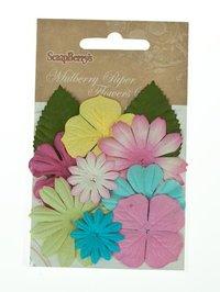 Blommor Mix Pastell