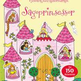 Sagoprinsessor - Pysselbok med klistermärken