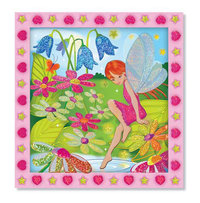 Peel & Press Sticker by Numbers Flower Garden Fairy