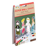 Paper Doll Chain Fairy Tales