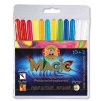 Fiber pens Magic 12 pcs