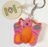 Tiny Softies Butterfly Pink/Orange