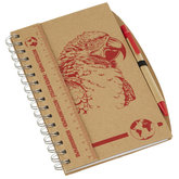 Notebook Recycled A5/Macaw