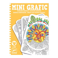 Mini Grafic Colouring Mandalas