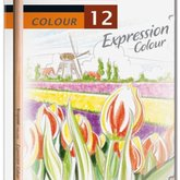 Coloured pensilsExpression colour 12 pcs