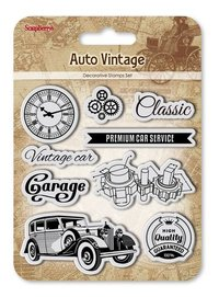 Clearstamps Auto Vintage Garage