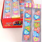 Eraser Heart 7 pcs