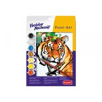 Paint Art Tiger