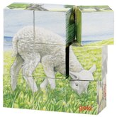Cube Puzzle Farm Animals